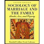 9780830413928: Sociology of Marriage and the Family: Gender, Love, and Property (The Nelson Series in Sociology)
