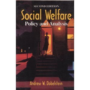 9780830414284: Social Welfare: Policy and Analysis