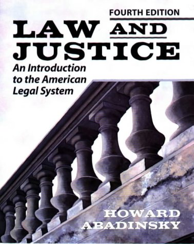 9780830414826: Law and Justice: Introduction to the American Legal System