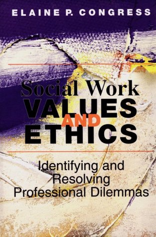 9780830414925: Social Work Values and Ethics: Identifying and Resolving Professional Dilemmas (Ethics & Legal Issues)