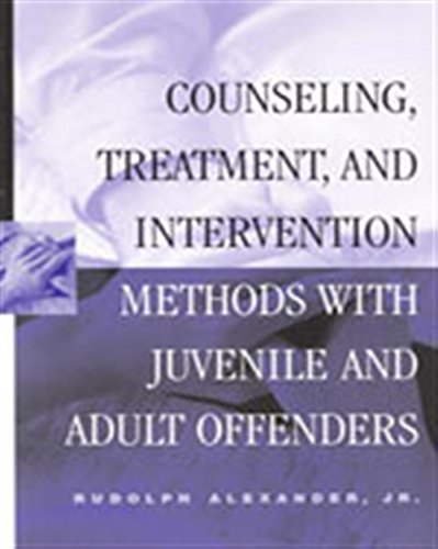 9780830415281: Counseling, Treatment, and Intervention Methods with Juvenile and Adult Offenders (Counseling with Juvenile & Adult Offenders)