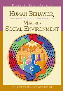 Human Behavior, Communities, Organizations, and Groups in: Karen K. Kirst-Ashman
