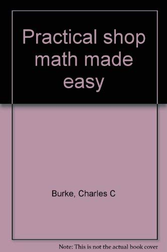9780830600090: Practical shop math made easy