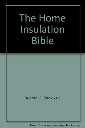 9780830600403: The Home Insulation Bible
