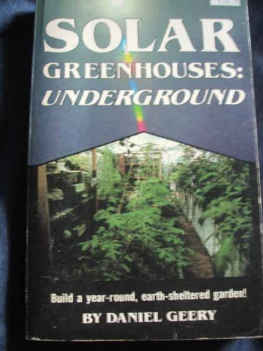 9780830600694: Solar Greenhouses: Underground