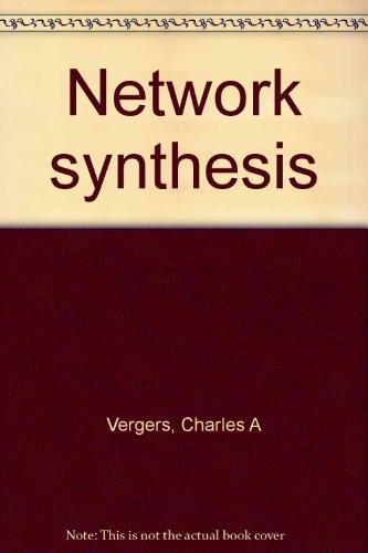 9780830600854: Network synthesis