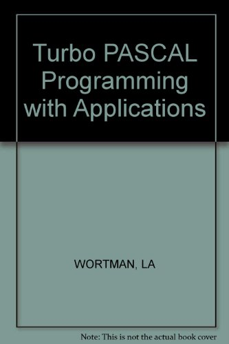 9780830601271: Turbo Pascal Programming With Applications