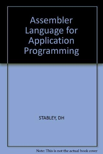 9780830602827: Assembler Language for Application Programming