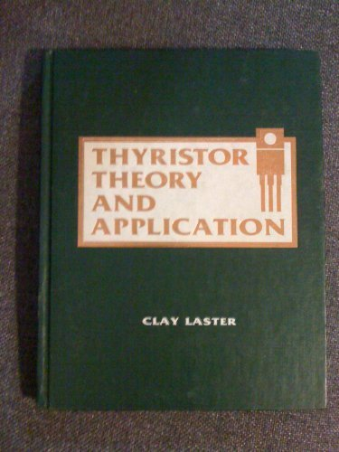 9780830603657: Thyristor theory and application