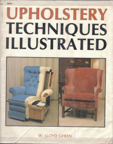 9780830604029: Upholstery Techniques Illustrated