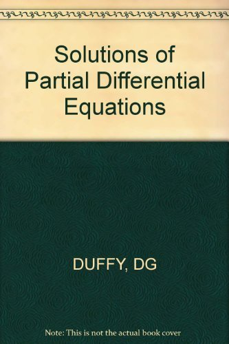 9780830604128: Solutions of Partial Differential Equations