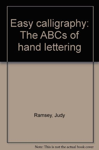 9780830607785: Easy calligraphy: The ABCs of hand lettering