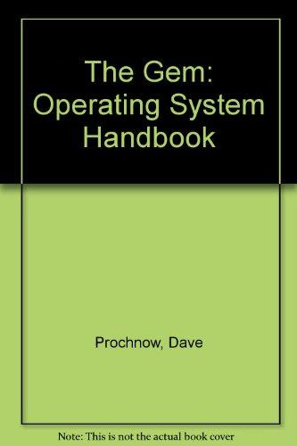 9780830609420: The Gem: Operating System Handbook
