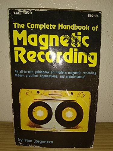9780830610594: The Complete Handbook of Magnetic Recording