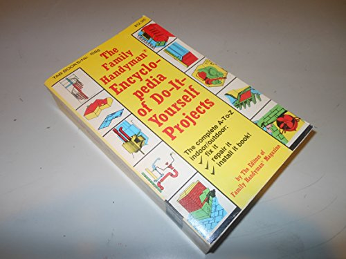 9780830610860: Family Handyman Encyclopaedia of Do-it-yourself Projects