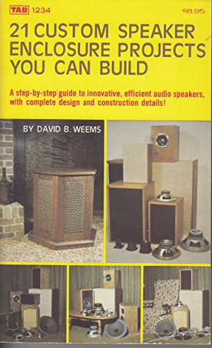 9780830612345: 21 Custom Speaker Enclosure Projects You Can Build