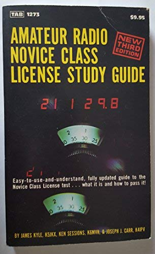 9780830612734: Amateur Radio Novice Class License Study Guide, 3rd Edition