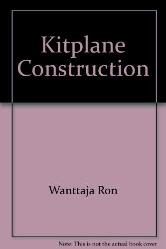 9780830616466: Kitplane construction