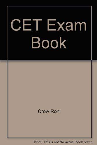 9780830616701: CET Exam Book
