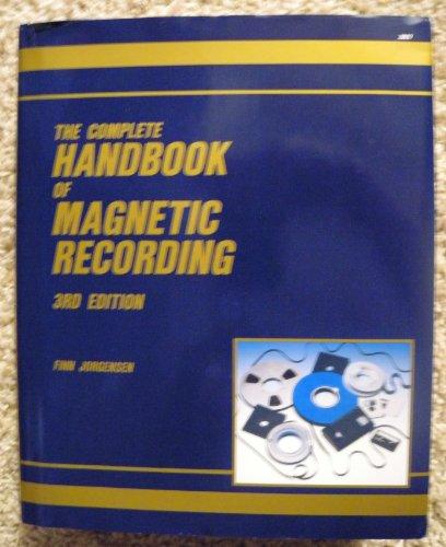 9780830619795: Complete Handbook of Magnetic Recording
