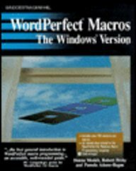 9780830625017: Wordperfect Macros: The Windows Version/Book and Disk