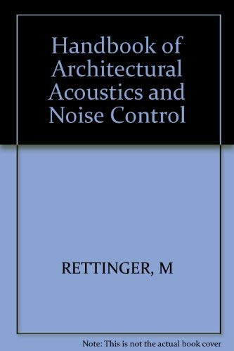 9780830626861: Handbook of Architectural Acoustics and Noise Control: A Manual for Architects and Engineers