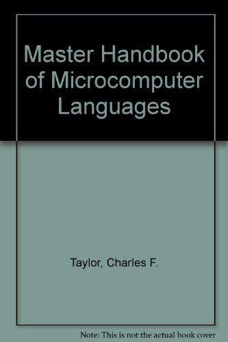 9780830628933: Master Handbook of Microcomputer Languages
