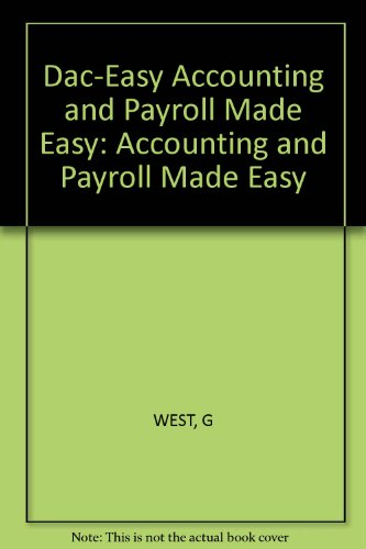 9780830629145: Dac-Easy Accounting and Payroll Made Easy