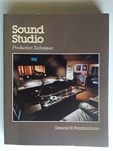 9780830632503: Sound Studio Production Techniques