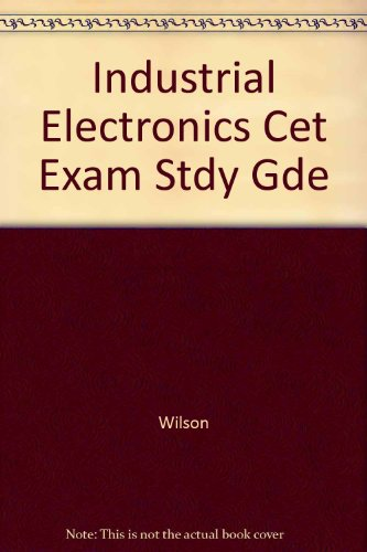 9780830633111: Industrial Electronics Cet Exam Stdy Gde