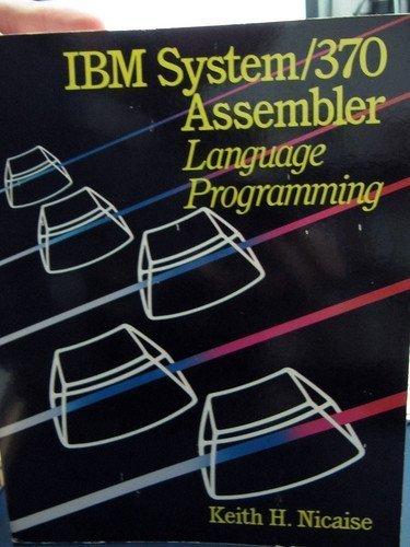 9780830633807: IBM System/370 Assembler Language Programming