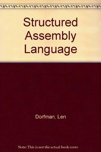 9780830634842: Structured Assembly Language