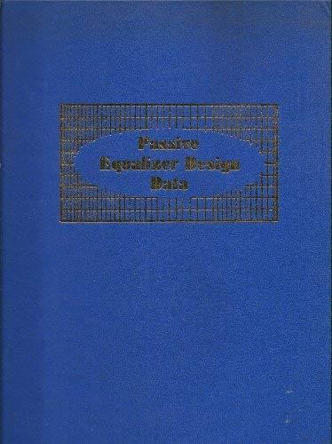 Passive Equalizer Design Data: Townsley, Ralph R.