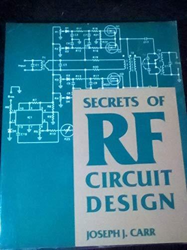 9780830637102: Secrets of Rf Circuit Design