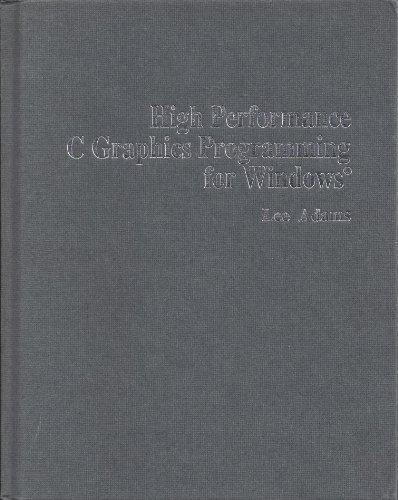 9780830637928: High-performance C graphics programming for Windows
