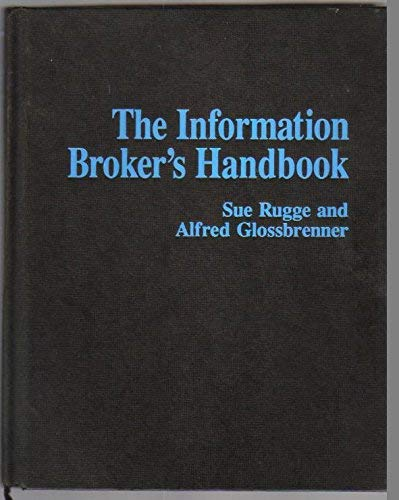 9780830637980: The Information Broker's Handbook/Book and Disk
