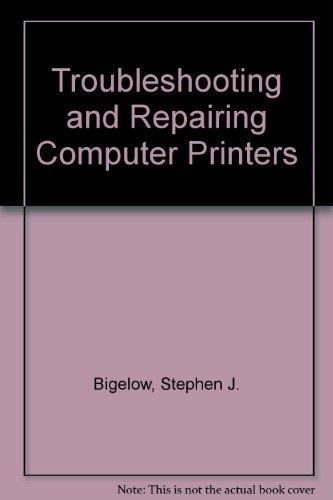 9780830639359: Troubleshooting and Repairing Computer Printers