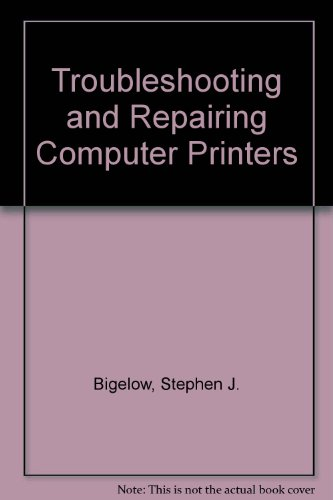 9780830639359: Troubleshooting and Repairing Computer Printers
