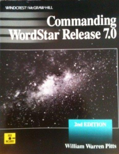 9780830639700: Commanding Wordstar Release 7.0