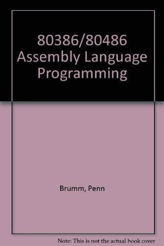 9780830640997: 80386/80486 Assembly Language Programming