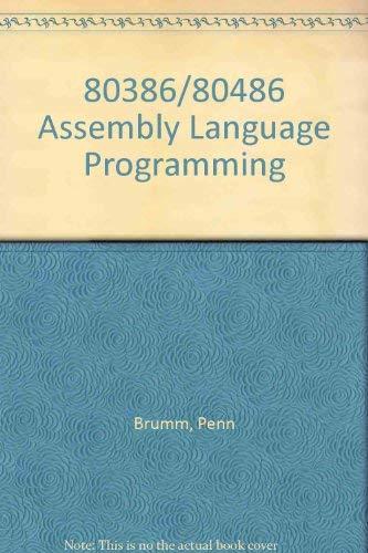 9780830641000: 80386/80486 Assembly Language Programming