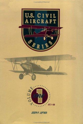 U.S. Civil Aircraft Series, Vol. 1: Juptner, Joseph P.