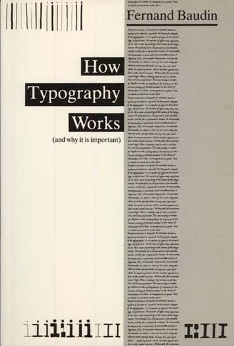 9780830650118: How Typography Works: (And Why It Is Important (English and French Edition)