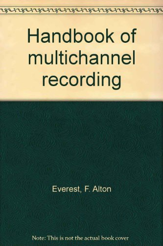 9780830657810: Handbook of multichannel recording