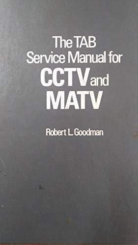 9780830673438: TAB Service Manual for C.C.T.V. and M.A.T.V.