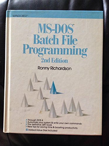 9780830675371: MS-DOS Batch File Programming