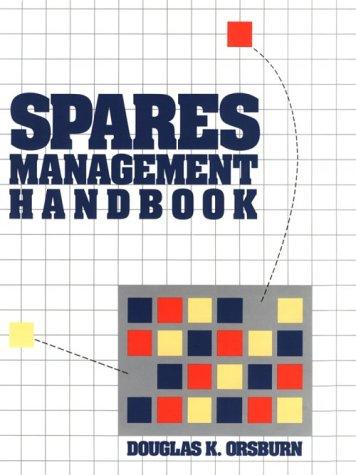 9780830676262: Spares Management Handbook