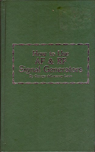 9780830679270: How to use AF & RF signal generators