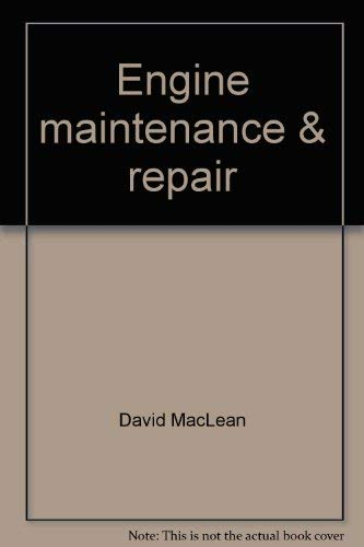 Engine maintenance & repair (Boatowner's how-to guides) (083067943X) by MacLean, David