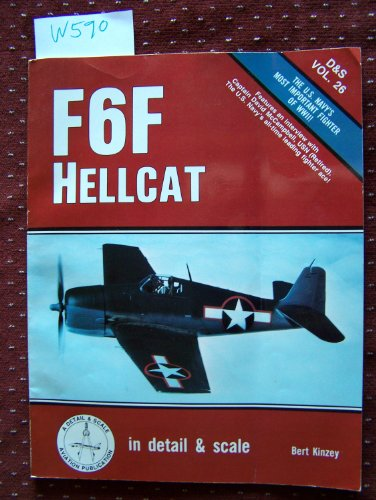 9780830680368: F6F Hellcat in Detail and Scale